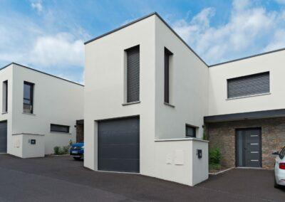 Label_Habitat_Construction_Habitations_Mitoyennes_Clermont-Ferrand_Façades_Entrée
