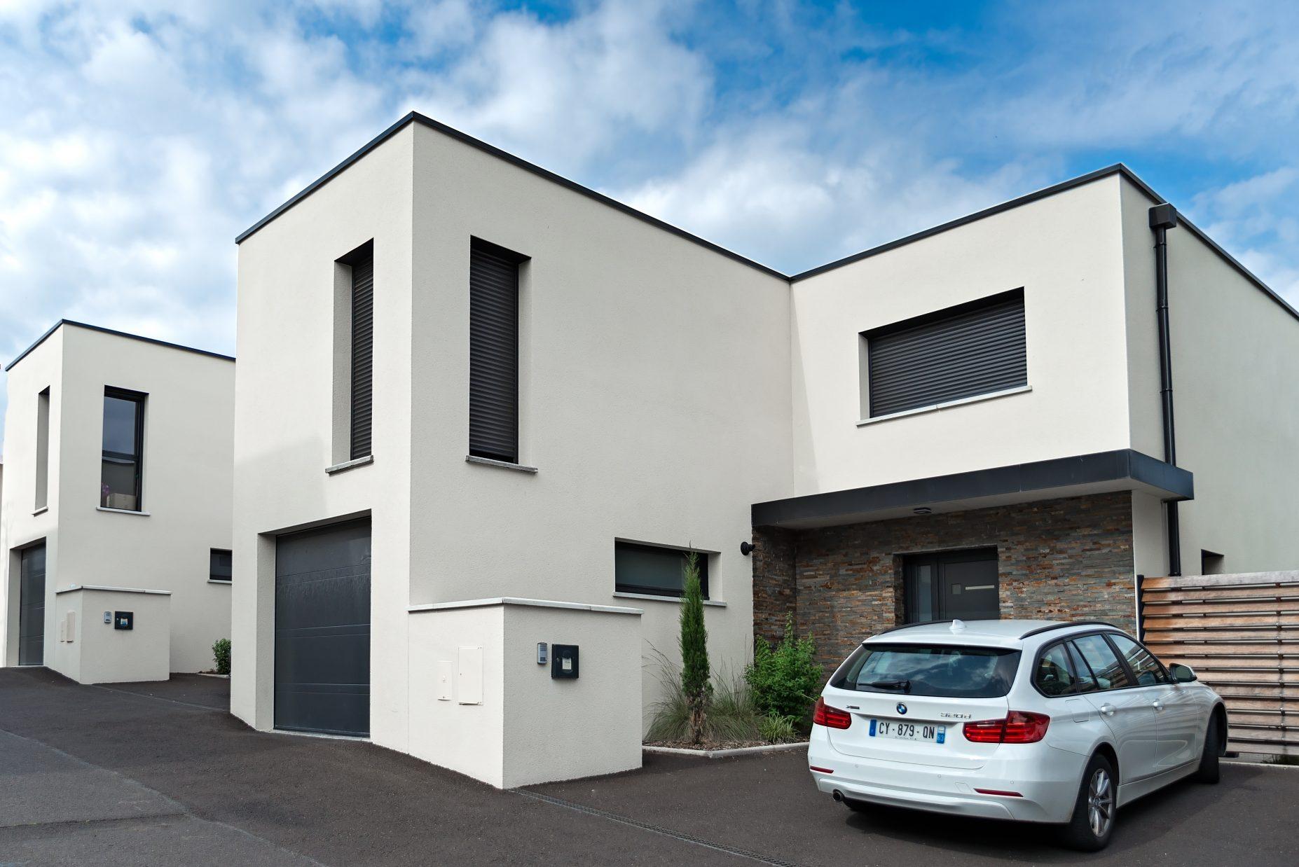Label_Habitat_Construction_Habitations_Mitoyennes_Clermont-Ferrand_Vue_Extérieure