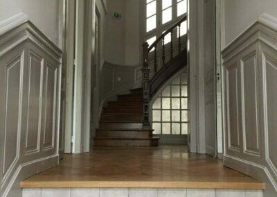 Label_Habitat_Renovation_Hôtel_Particulier_Vichy_Hall_Entrée