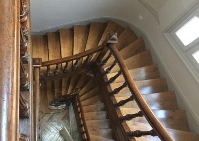 Label_Habitat_Renovation_Hôtel_Particulier_Vichy_Vue_Escalier